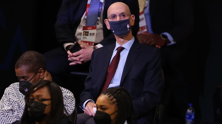 Adam Silver (Photo by Kevin C. Cox/Getty Images)