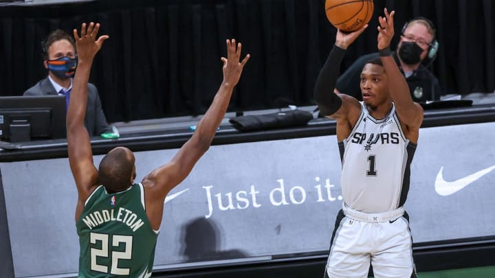 San Antonio Spurs Lonnie Walker (Photo by Dylan Buell/Getty Images)