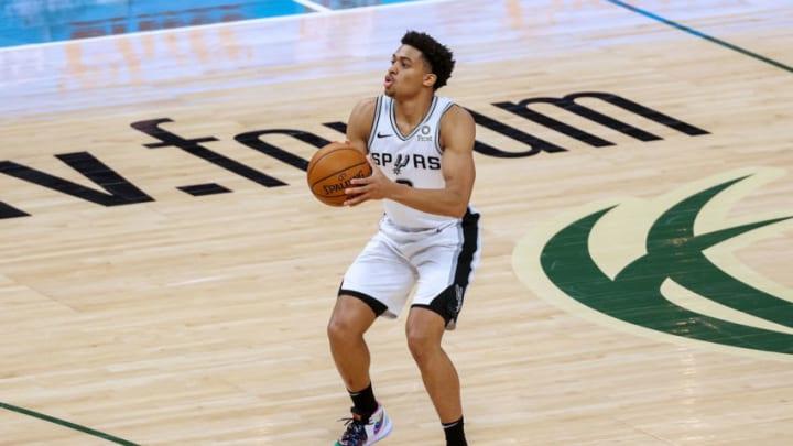 San Antonio Spurs Keldon Johnson (Photo by Dylan Buell/Getty Images)