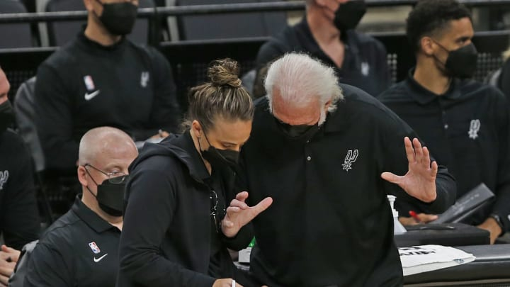 San Antonio Spurs Gregg Popovich (Photo by Ronald Cortes/Getty Images)