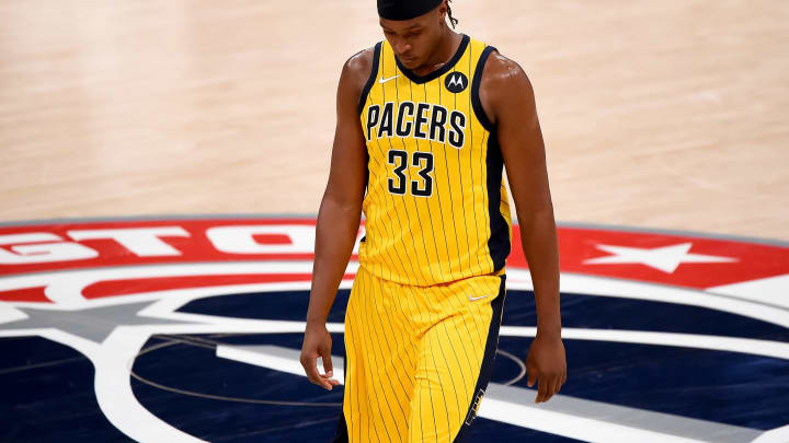 Myles Turner (Photo by Will Newton/Getty Images)
