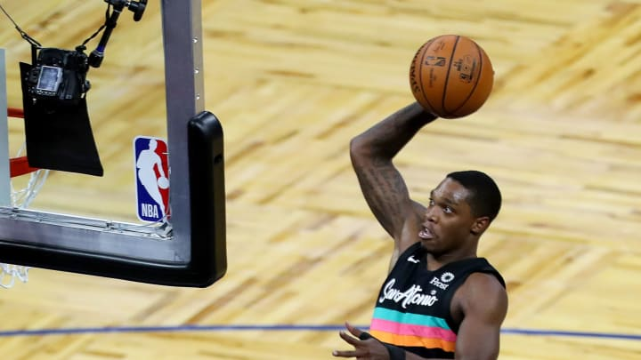 San Antonio Spurs Lonnie Walker (Photo by Alex Menendez/Getty Images)