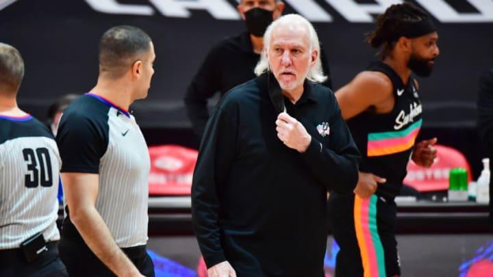 San Antonio Spurs Gregg Popovich (Photo by Julio Aguilar/Getty Images)
