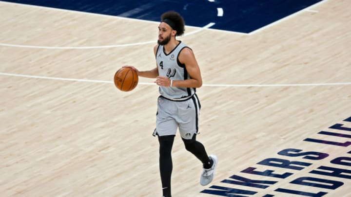 San Antonio Spurs Derrick White (Photo by Dylan Buell/Getty Images)