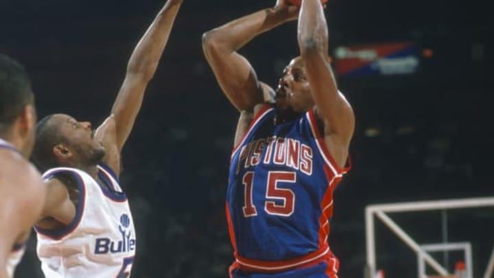 LANDOVER, MD – CIRCA 1990: Vinnie Johnson