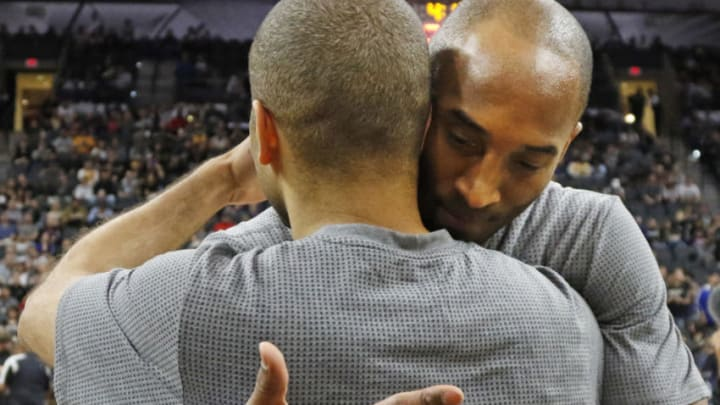 Tony Parker Kobe Bryant (Photo by Ronald Cortes/Getty Images)