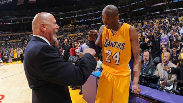 LOS ANGELES, CA – APRIL 13: Kobe Bryant