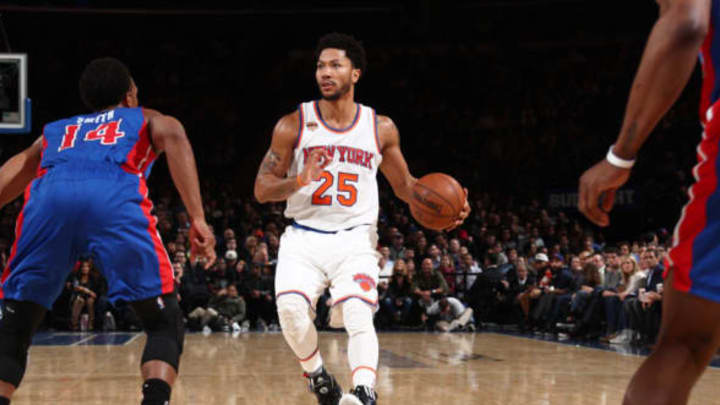 NEW YORK, NY – MARCH 27: Derrick Rose