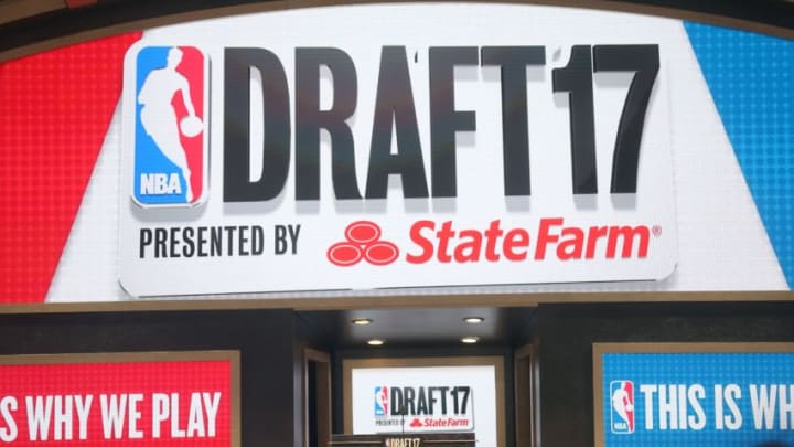 NEW YORK, USA - JUNE 22: NBA Draft 2017 held in Barclays Center in Brooklyn borough of New York, United States on June 22, 2017. (Photo by Mohammed Elshamy/Anadolu Agency/Getty Images)