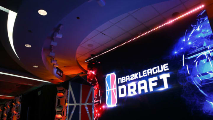 NEW YORK, NY - APRIL 04: A general view of the NBA 2K League Draft at Madison Square Garden on April 4, 2018 in New York City. (Photo by Mike Stobe/Getty Images)