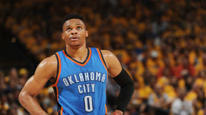 OAKLAND, CA – MAY 30: Russell Westbrook