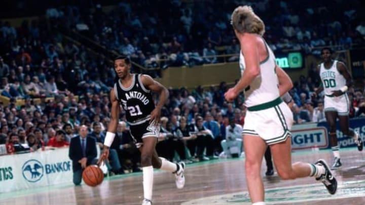 BOSTON – 1987: Alvin Robertson