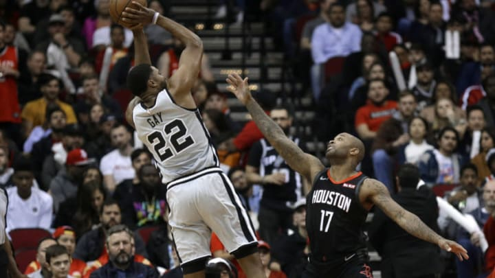 San Antonio Spurs Rudy Gay (Photo by Bob Levey/Getty Images)