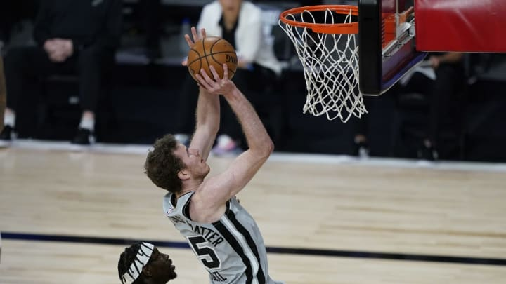 San Antonio Spurs Jakob Poeltl (Photo by Ashley Landis – Pool/Getty Images)