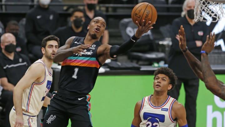 San Antonio Spurs Lonnie Walker (Photo by Ronald Cortes/Getty Images)
