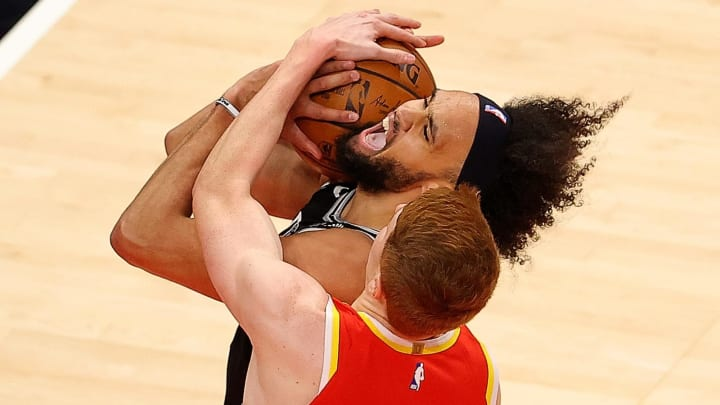 San Antonio Spurs Derrick White (Photo by Kevin C. Cox/Getty Images)