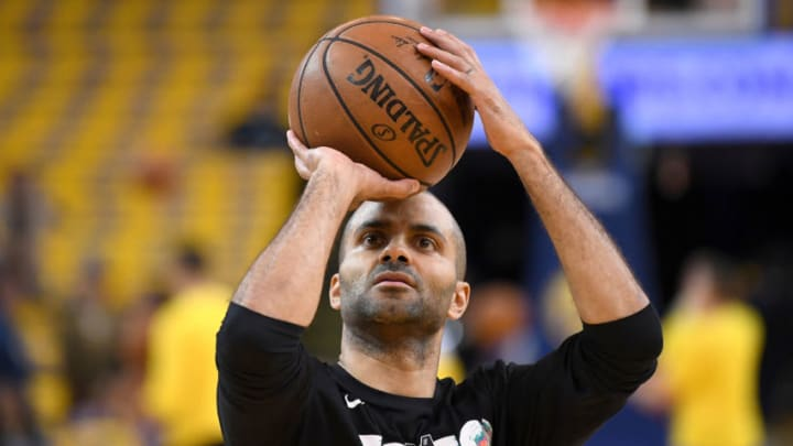 San Antonio Spurs Tony Parker (Photo by Thearon W. Henderson/Getty Images)
