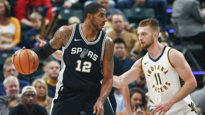 LaMarcus Aldridge of the San Antonio Spurs (Photo by Michael Hickey/Getty Images)