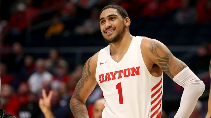 DAYTON, OHIO – DECEMBER 17: Obi Toppin #1 of the Dayton Flyers in action in the game against the North Texas Mean Green at UD Arena on December 17, 2019 in Dayton, Ohio. (Photo by Justin Casterline/Getty Images)