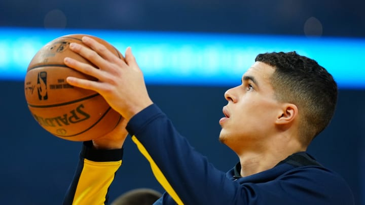 SAN FRANCISCO, CALIFORNIA – JANUARY 16: Michael Porter Jr. #1 of the Denver Nuggets warms up prior to the game against the Golden State Warriors at Chase Center. (Photo by Daniel Shirey/Getty Images)