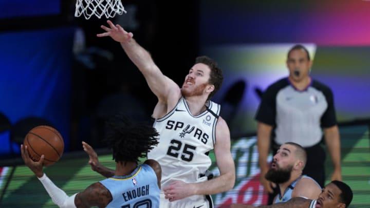 San Antonio Spurs Jakob Poeltl (Photo by Ashley Landis-Pool/Getty Images)
