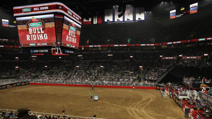 Feb 23, 2019; San Antonio, TX, United States; San Antonio Stock Show and Rodeo at Freeman Coliseum. Mandatory Credit: John Gutierrez-USA TODAY Sports
