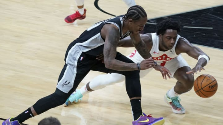 San Antonio Spurs DeMar DeRozan Credit: Scott Wachter-USA TODAY Sports