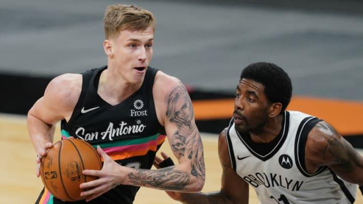 San Antonio Spurs Luka Samanic Mandatory Credit: Daniel Dunn-USA TODAY Sports