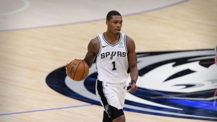 San Antonio Spurs Lonnie Walker (Jerome Miron-USA TODAY Sports)