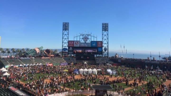 2016 Giants Fan Fest, by Stephen Ruderman