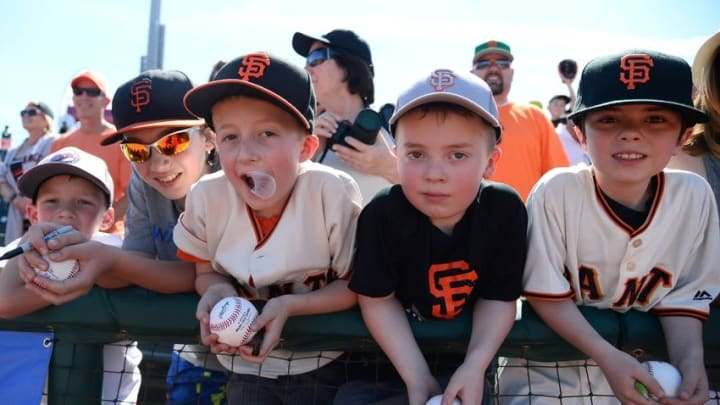 San Francisco Giants fans are considered among the most loyal in baseball, according to a marketing group's study. Joe Camporeale-USA TODAY Sports