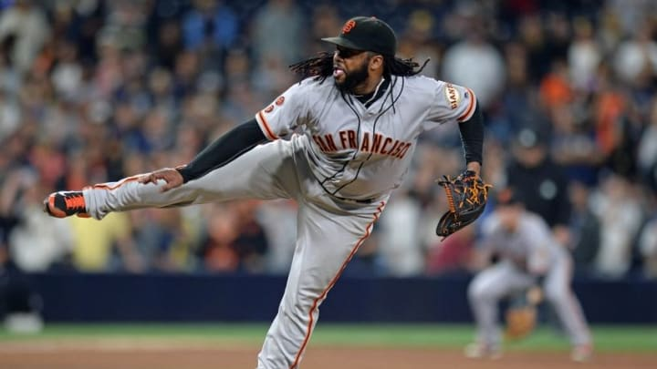 Johnny Cueto gave up just one run in his complete game against San Diego Wednesday night. Not that it makes him special—Madison Bumgarner did the same thing the night before. Jake Roth-USA TODAY Sports