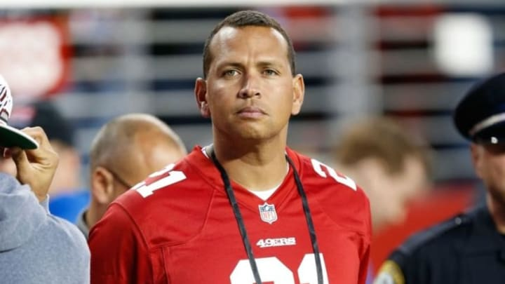 No, Alex Rodriguez won't be wearing a San Francisco (Giants) jersey anytime soon. But apparently neither will the Yankees' more likely trade candidates. (Bob Stanton-USA TODAY Sports)