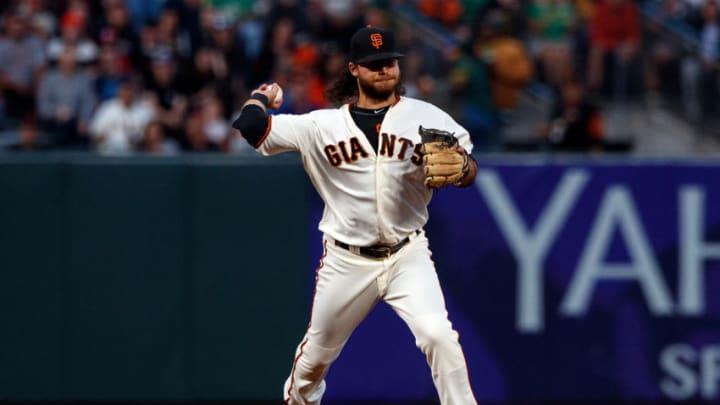 Giants shortstop Brandon Crawford. (Photo by Jason O. Watson/Getty Images)