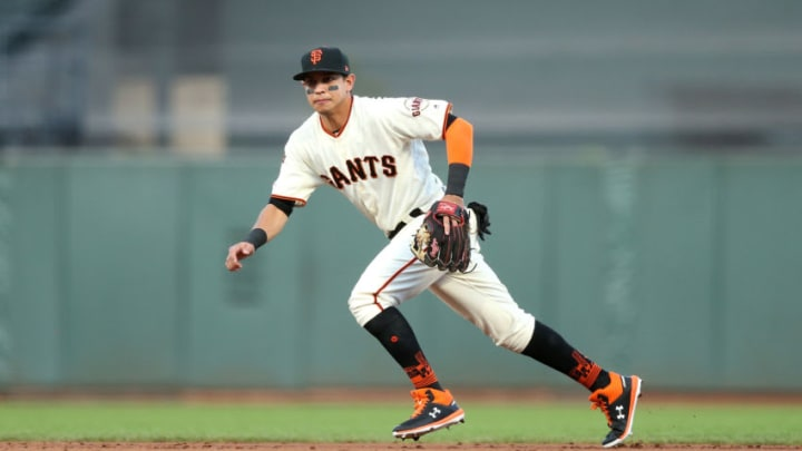 SF Giants infielder Mauricio Dubon. (Photo by Ezra Shaw/Getty Images)