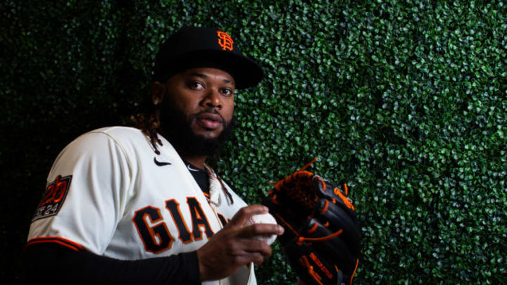 Giants pitcher Johnny Cueto. (Photo by Rob Tringali/Getty Images)