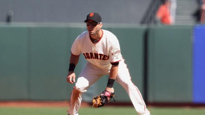 Marco Scutaro, San Francisco Giants. (Photo by Tony Medina/Getty Images)