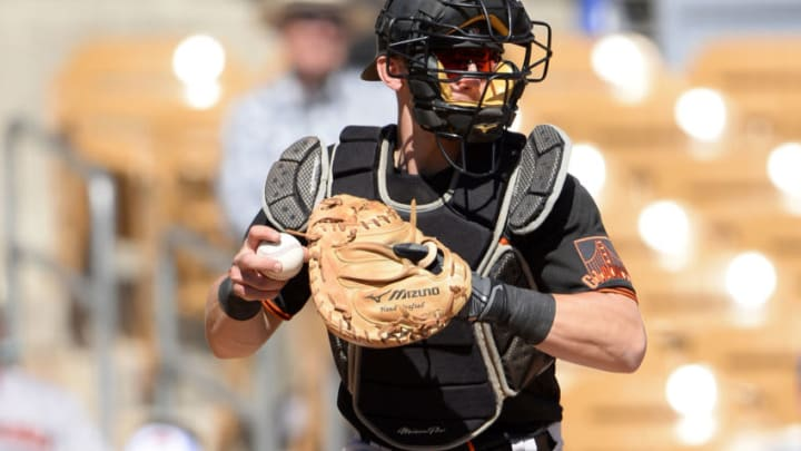 Rob Brantley of the SF Giants. (Photo by Ron Vesely/Getty Images)