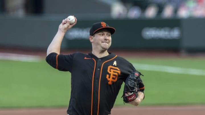 SF Giants RHP Trevor Cahill. (Photo by Jason O. Watson/Getty Images)
