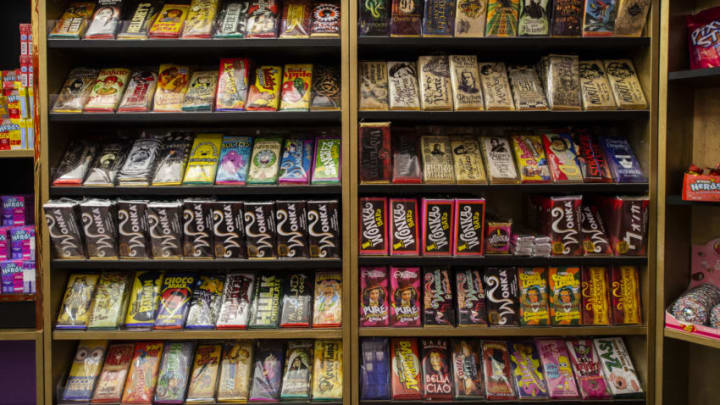 BARCELONA, SPAIN - JULY 03: Woncandy Shop, Willy Wonka Candy shop opens in Barcelona in Galerias Malda on July 03, 2020 in Barcelona, Spain. (Photo by Jordi Vidal/Getty Images)