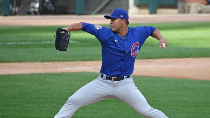 Jose Quintana is one of the many lefthanded starting pitchers that the SF Giants could target this offseason. (Photo by Jonathan Daniel/Getty Images)