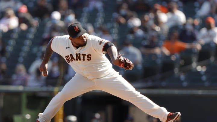 SF Giants, Reyes Moronta