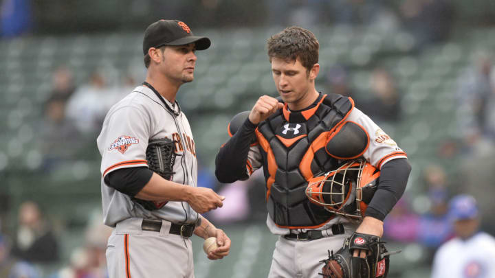 SF Giants, Ryan Vogelsong, Buster Posey