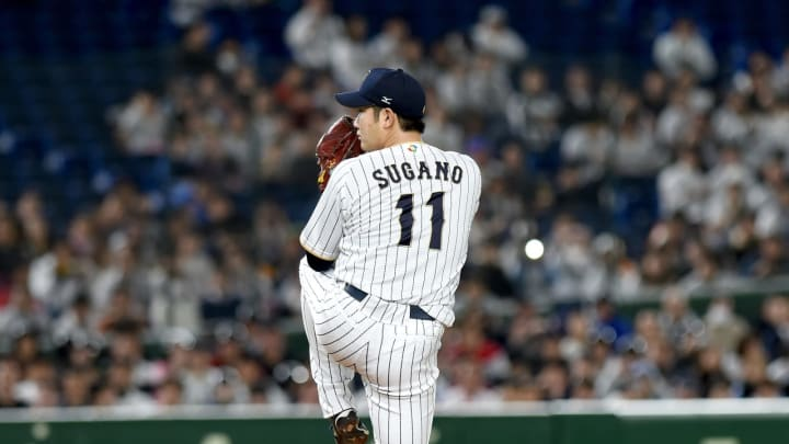 SF Giants, Tomoyuki Sugano