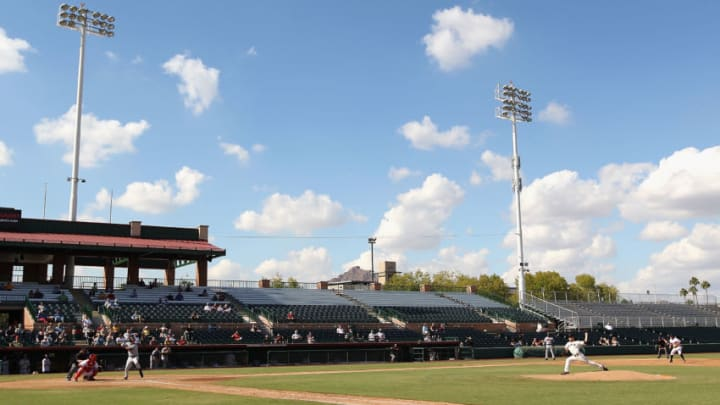 Scottsdale Stadium, the SF Giants Spring Training facility. (Photo by Christian Petersen/Getty Images)