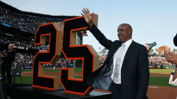 Barry Bonds. (Photo by Lachlan Cunningham/Getty Images)