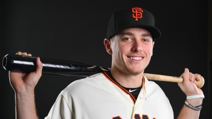 Giants infielder Ryan Howard. (Photo by Jamie Schwaberow/Getty Images)