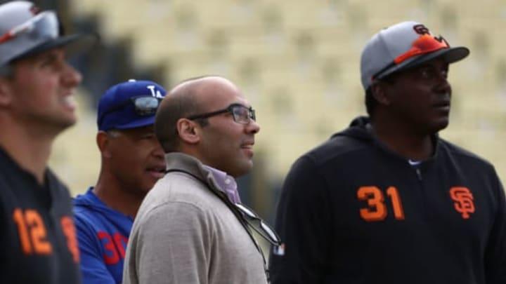 Farhan Zaidi, SF Giants