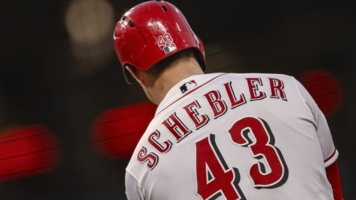 Scott Schebler could be a fit for the SF Giants (Photo by Michael Hickey/Getty Images)