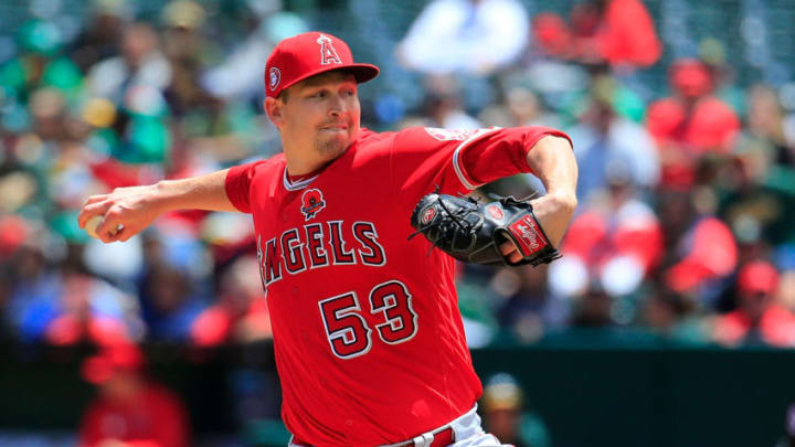 Giants pitcher Trevor Cahill. (Photo by Daniel Shirey/Getty Images)